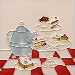 Tea and Cake tile
